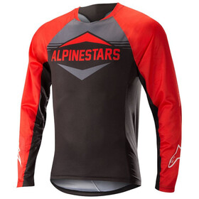 Alpinestars Mesa Bike Jersey Longsleeve Men red/black